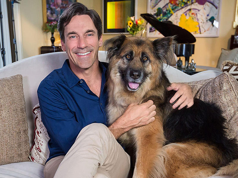 Jon Hamm Opens Up About How His Rescue Dog Changed His Life