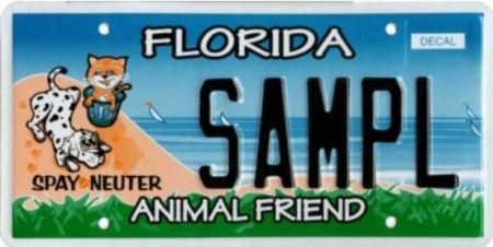 Original Animal Friend plate