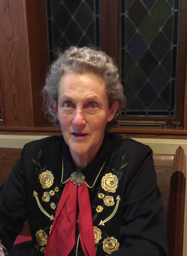 Temple Grandin Sends Message of Compassion to Students at Lake Forest College