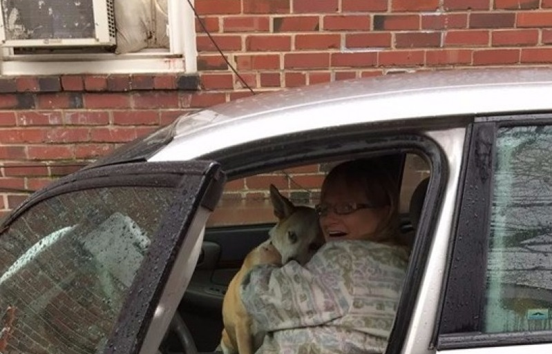 Homeless Woman, Living In Car, Sacrifices Greatly For Her Beloved Dog
