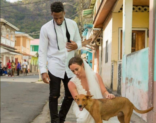 NFL Player And Bride Asked For Donations To Animal Shelter In Lieu Of Gifts