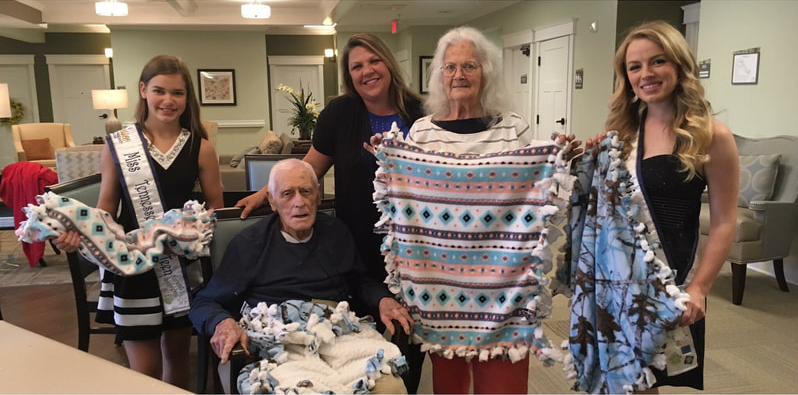 Residents At Senior Living Facility Create Gifts For Local Animal Shelters