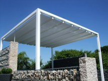 Retractable Roof Poolside Cabana Shelter Outdoor