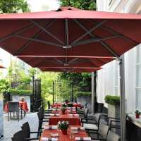 Square Commercial Umbrellas | P6 Series | Shelter Outdoor ...