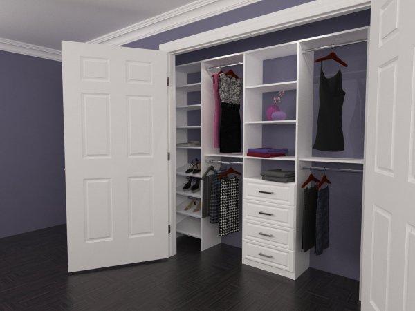 Custom Closet Organizers Shelving Outlet - Home Decor