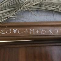 20+C+M+B+20 Benedizione della casa nel giorno dell'Epifania