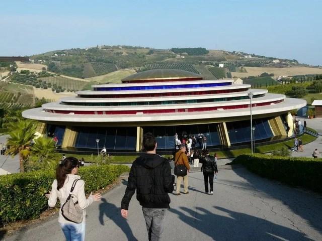 Tenda della Riunione del Centro Neocatecumenale Internazionale Servo di Jahvè a Porto San Giorgio