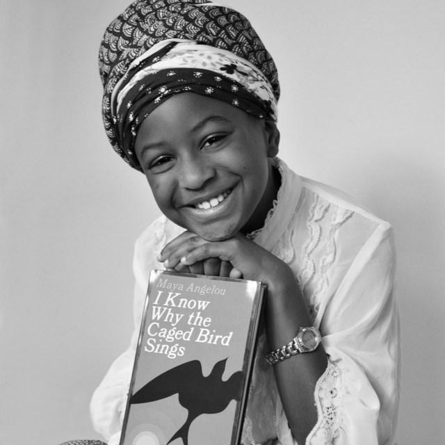 Georgia a Maya Angelo, American Poet, award-winning author, Civil Rights Activist