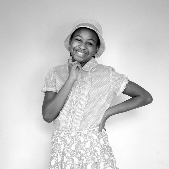 Georgia as Moms Mabley (given name Loretta Mary Aiken)
