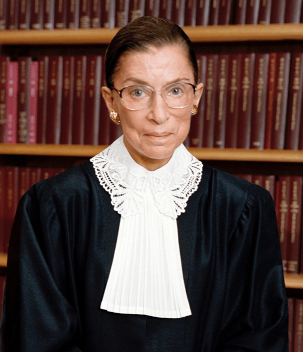 Her Story: Ruth Bader Ginsburg - legendary U.S. Supreme Court Justice and a fearless champion of women's rights. Celebrate Women's History with us daily!