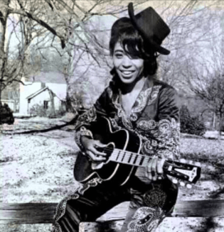 "Linda Martell, first black woman to sing on the ""Grand Ole Opry"""