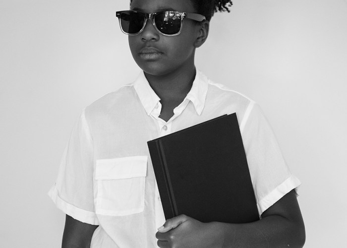 10 Year Old Georgia as Elizabeth Eckford