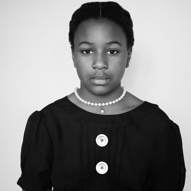 A Black History Month Project with 10 year old Georgia.
