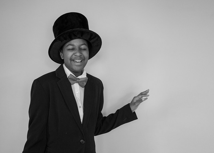 Georgia as Gladys Bentley