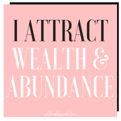 Free Printable Money Affirmations from top personal finance blogger, Danielle YB Vason of She Makes Cents
