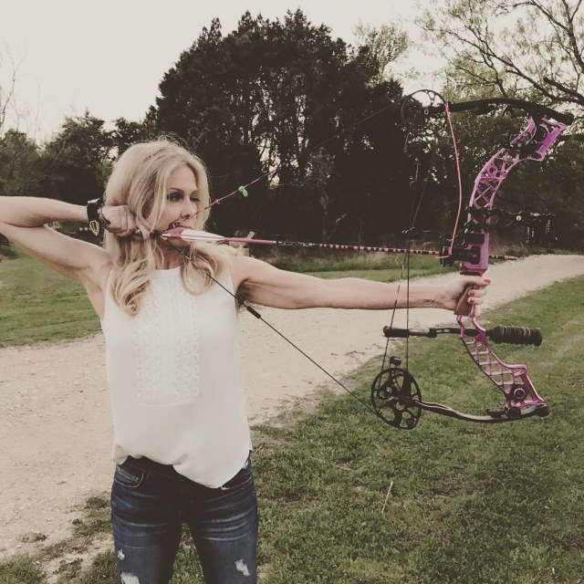 Yeah A little evening shooting with my Mathews bow goldtiphellip