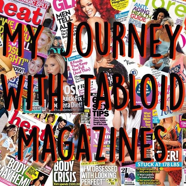 tabloid magazines