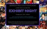 Exhibit Night June 2, 2016 @ 6pm