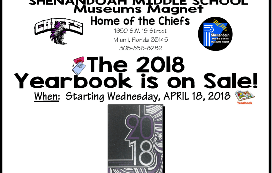 The 2018 Yearbook is on Sale!