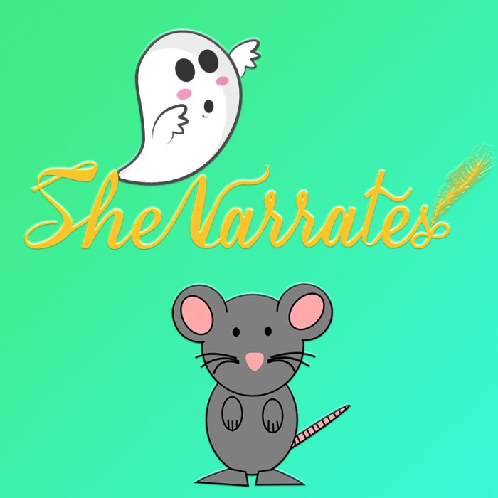 Audio Stories by the team She Narrates- The Ghost Mouse