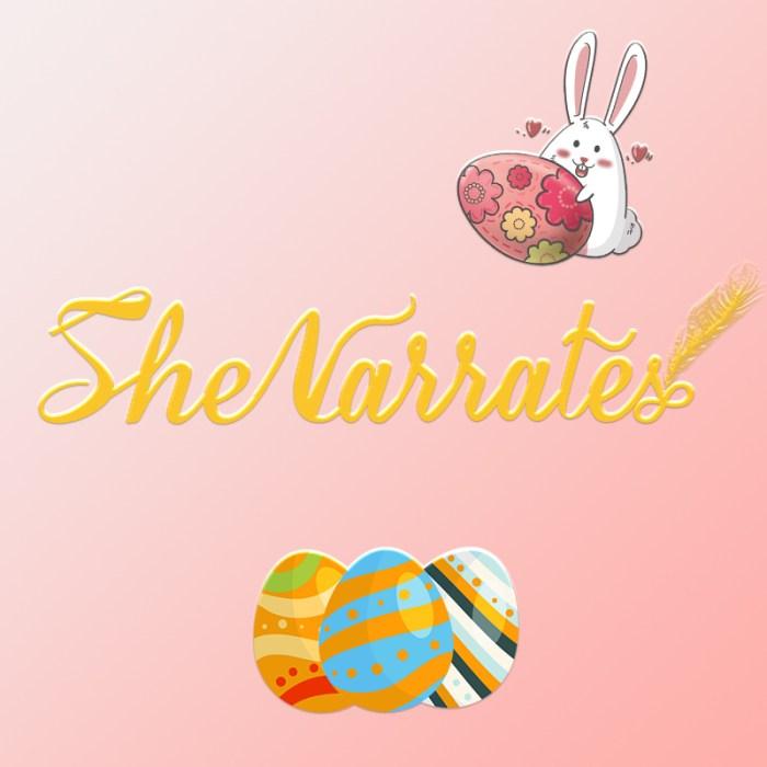 She Narrates Audio Stories page- The Strange Egg