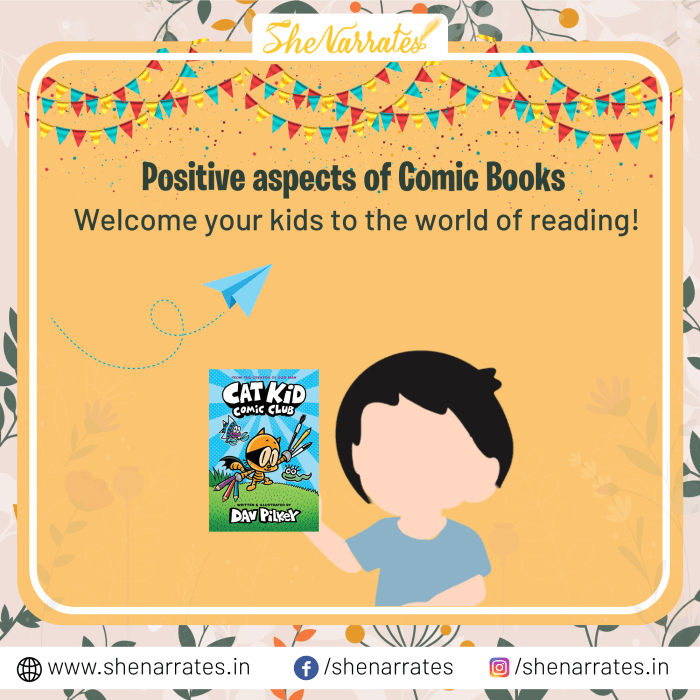 Reading Comic Books is important for Children as it helps them grow exponentially.