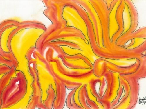 Yellow Daisies by Jane Kippenhan