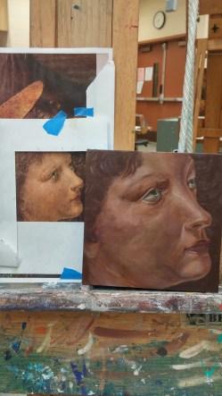 Leonardo Da Vinci reproduction