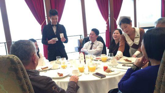 匯豐銀行vip宴會魔術表演