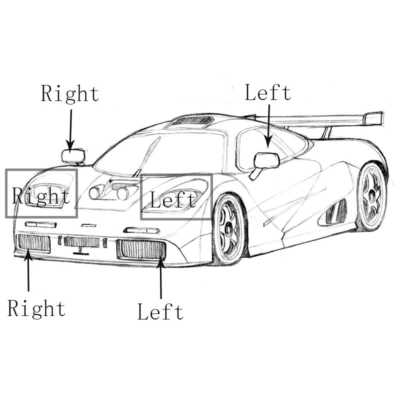 Right Side Front Fog Light For BMW 3 Series E90 E91 328i