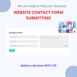 Website Contact Form Submitting