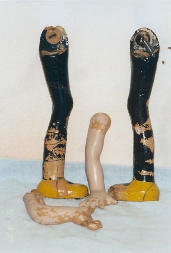 Little Annie Rooney Doll Limbs
