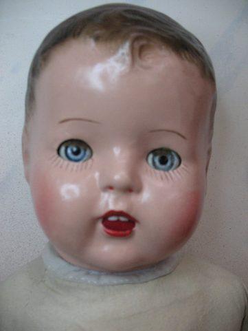 MaMa Doll Head Finished