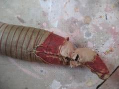 Antique China Doll Leg