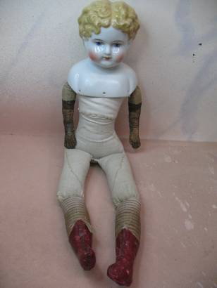 Antique China Doll Finished