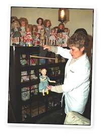 Susan And Doll Collection