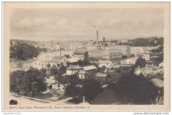 Penman's Post Card, Paris, Ontario
