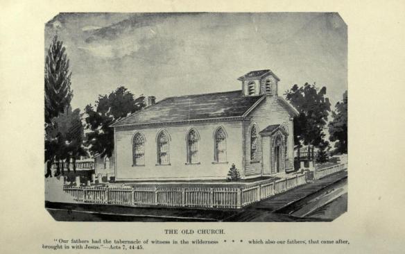 Hamilton St. Paul's Presbyterian Church Early