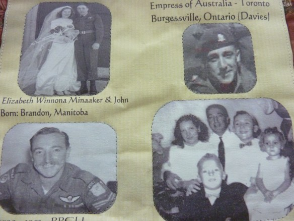 John Vallance represented on 2010 Commemorative Quilt