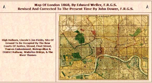1868 London Map
