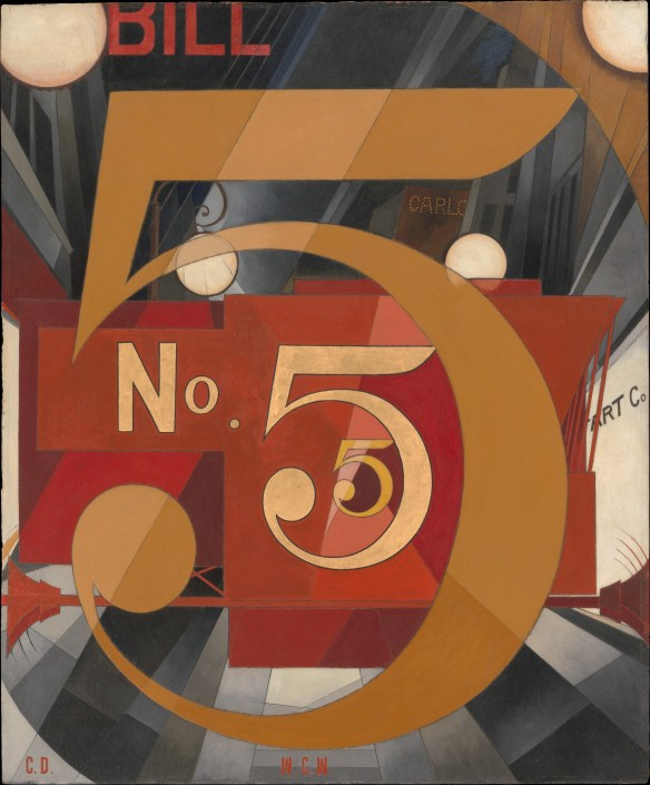 I Saw the Figure 5 in Gold: The Metropolitan Museum of Art.