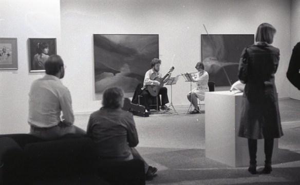 April 1977 SAAG opening Dale Ketchison Guitar Photo Credit: Robert Waldren