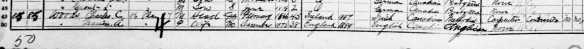 1911 Census Welland District, Ontario  Daughter and Son on following page of census.