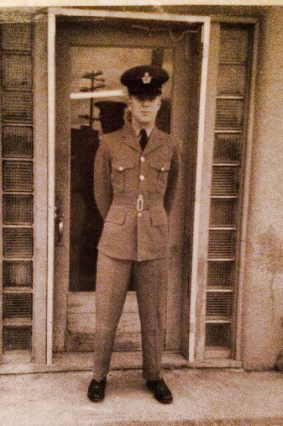 Uncle Bob Moors in Magrath Alberta July 1963