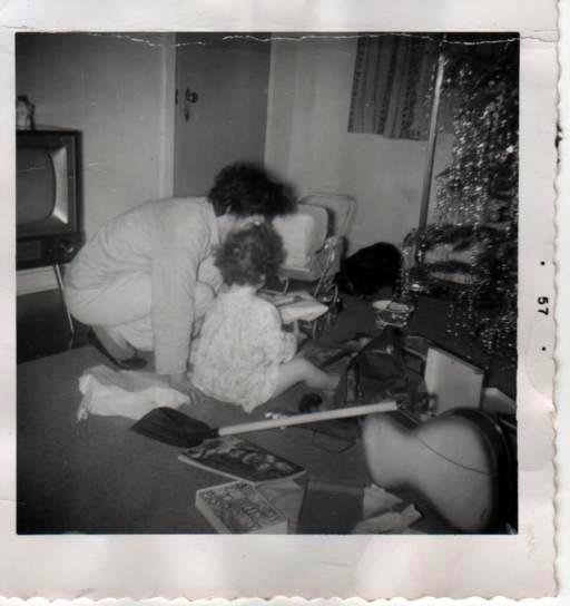 Kath and Mom on Christmas Day