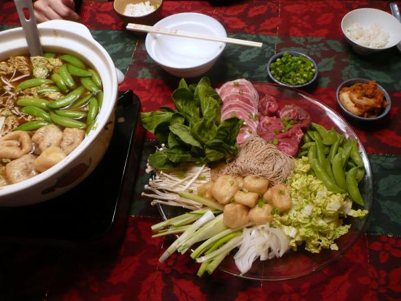 Japanese Hot Pot...amazing!