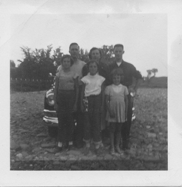 Dad with his special family in Sherbrooke, Quebec