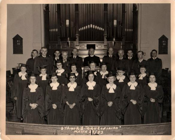 Dad Choral Stainer's Crucifixion March 29, 1953
