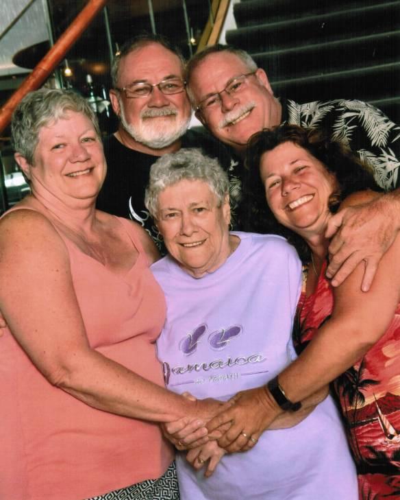 Joan and family Caroline Elliotts daughter