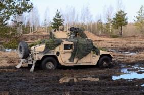 Humvee with 40mm RWS